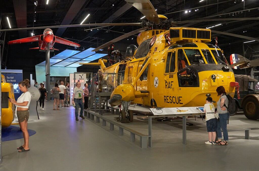 RAF Museum join TWA and host FAM trip